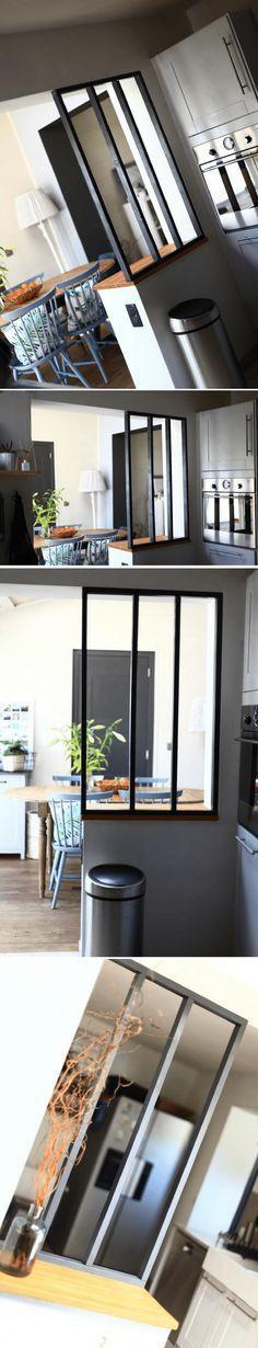 d co salon comment fabriquer une fausse verri re avec. Black Bedroom Furniture Sets. Home Design Ideas
