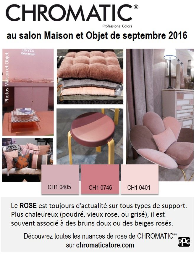 D co salon le rose au salon maison et objet de septembre 2016 ten - Salon maison et objet septembre 2017 ...