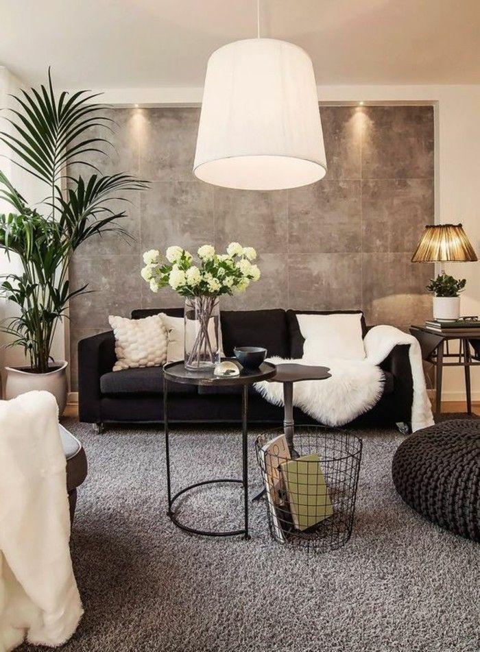 d co salon moquette castorama de couleur gris pour le salon leading. Black Bedroom Furniture Sets. Home Design Ideas