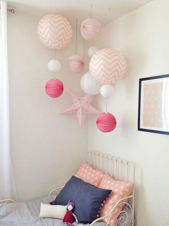 d co salon kinderzimmer deko f rs zimmer papierlampen. Black Bedroom Furniture Sets. Home Design Ideas