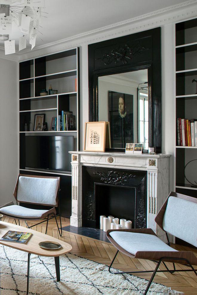 d co salon un salon moderne misant sur les codes haussmanniens leading. Black Bedroom Furniture Sets. Home Design Ideas