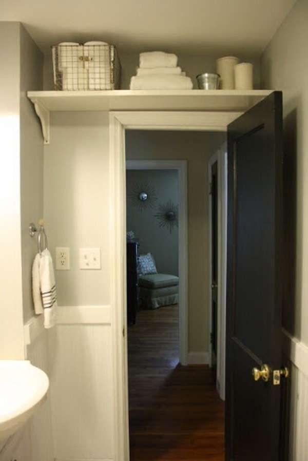 Idée décoration Salle de bain - 16 astuces gain de place pour petite ...