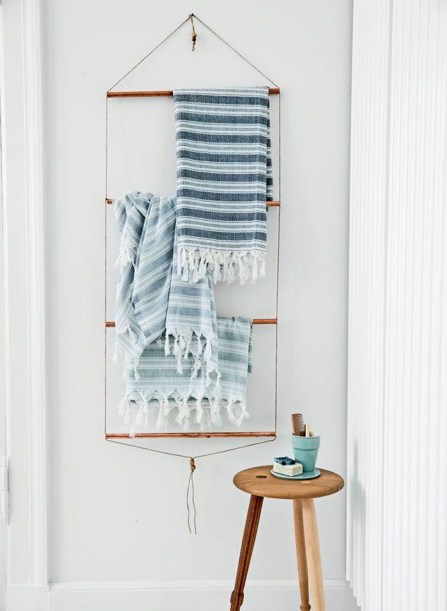 id e d coration salle de bain 6 diy pour tout suspendre plumetis magazine. Black Bedroom Furniture Sets. Home Design Ideas