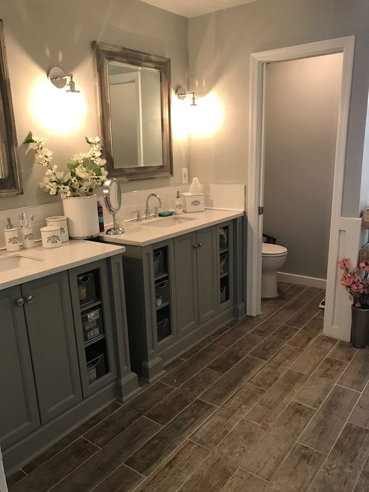 id e d coration salle de bain bathroom remodel master bathroom grey bathroom fixer upper. Black Bedroom Furniture Sets. Home Design Ideas