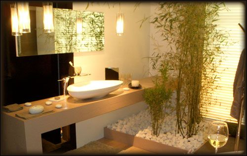 Id e d coration salle de bain d coration salle de bain for Decoration salle de bain zen