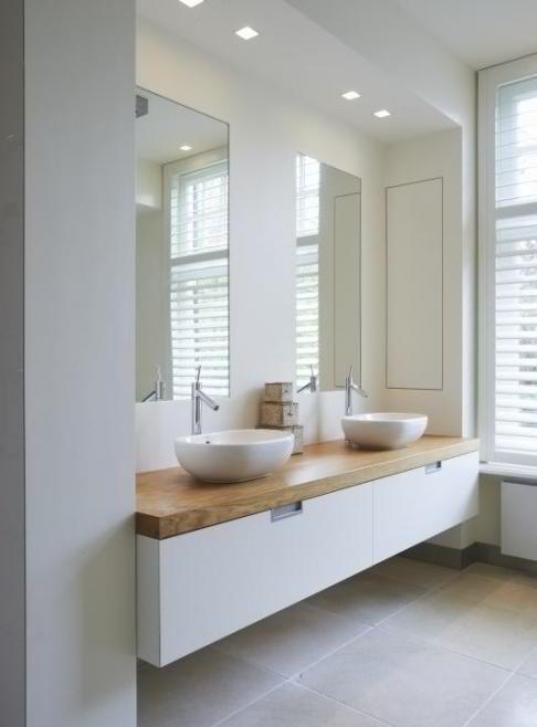 Idée décoration Salle de bain - Exemple de vasque/meuble de ...