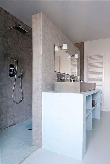 id e d coration salle de bain faire son plan vasque afin qu 39 il soit unique adapt aux mesures. Black Bedroom Furniture Sets. Home Design Ideas