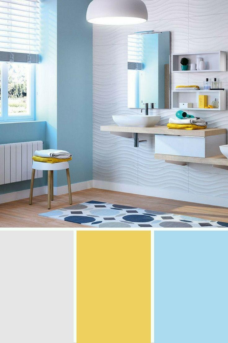 id e d coration salle de bain le bleu est et restera la couleur privil gi e pour la salle de. Black Bedroom Furniture Sets. Home Design Ideas