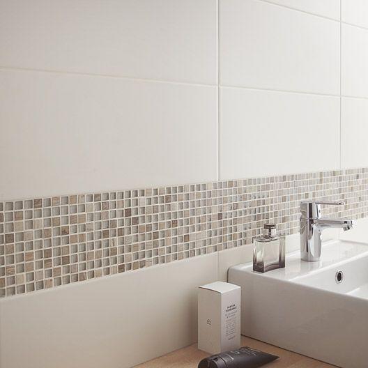 Idée décoration Salle de bain - Mosaïque Fusion bois ARTENS, bois ...