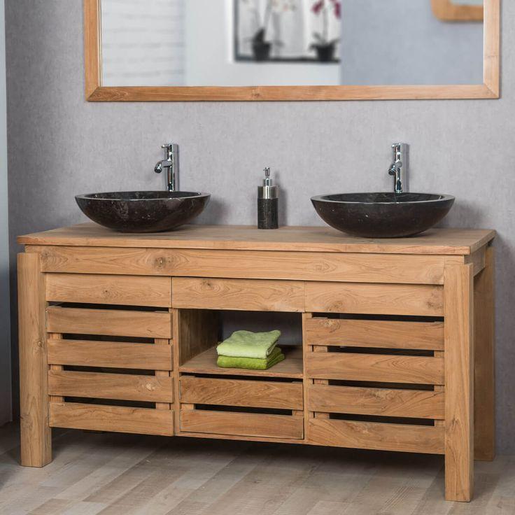 id e d coration salle de bain offrez un look naturel votre salle de bain en choisissant le. Black Bedroom Furniture Sets. Home Design Ideas