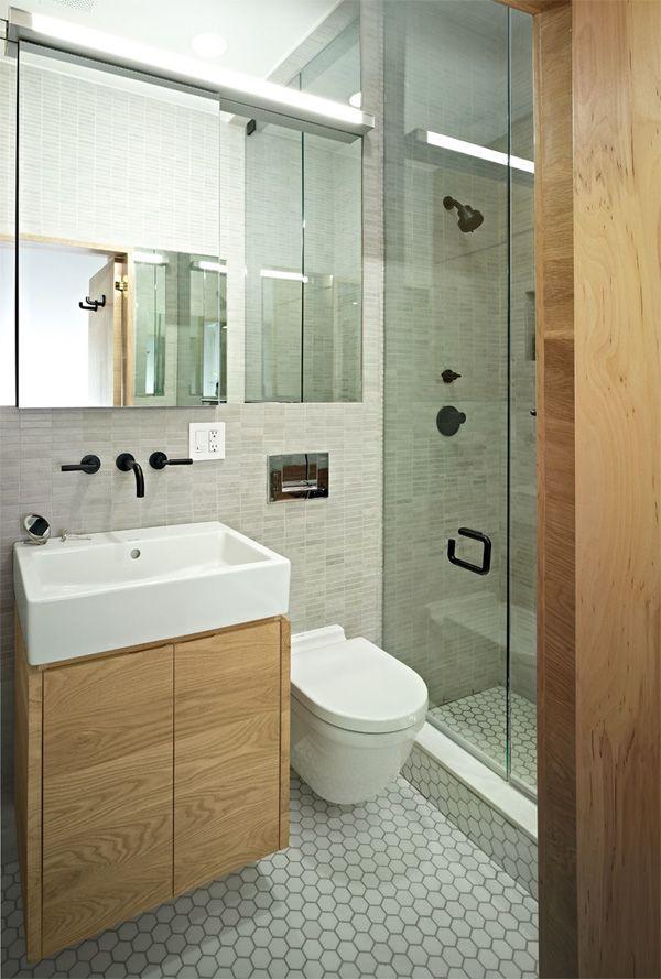 description petite salle de bain moderne - Salle De Bains Moderne Photos