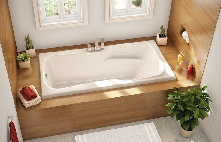 Id e d coration salle de bain petite salle de bains avec for Idee deco baignoire