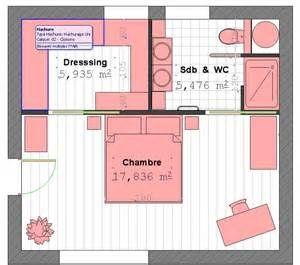 Idée Décoration Salle De Bain Plan Suite Parentale Avec Salle De