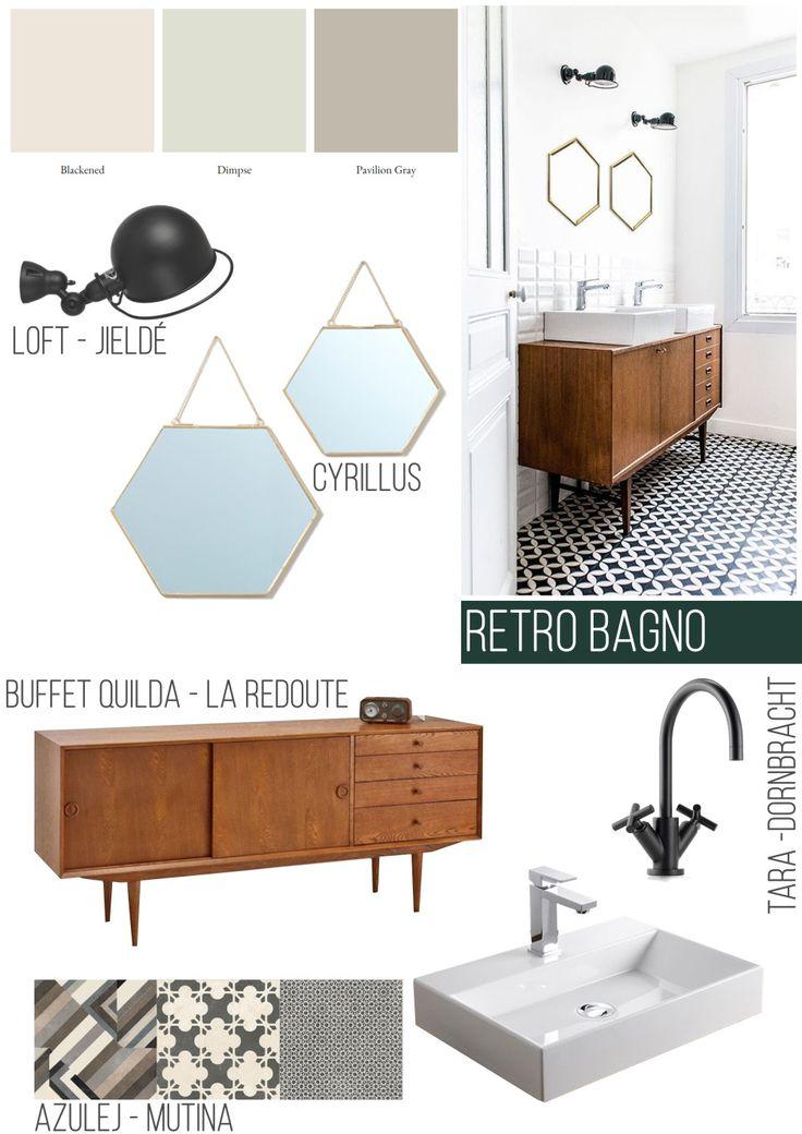 id e d coration salle de bain refaire sa salle de bain dans un esprit r tro. Black Bedroom Furniture Sets. Home Design Ideas