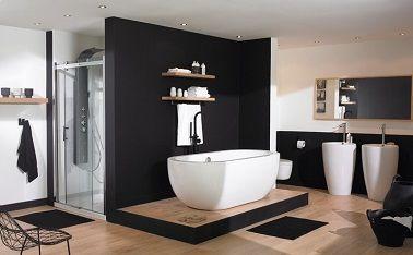 Idée décoration Salle de bain - salle de bain design avec ...