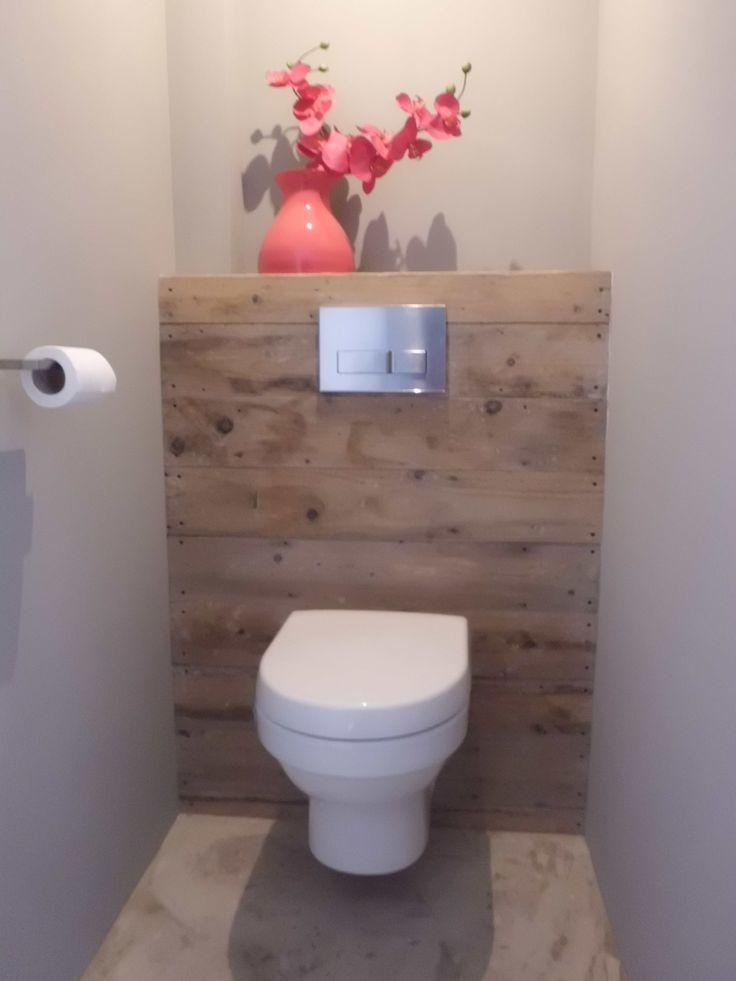 Idée décoration Salle de bain - Toilettes suspendues + Bois = Classe ...