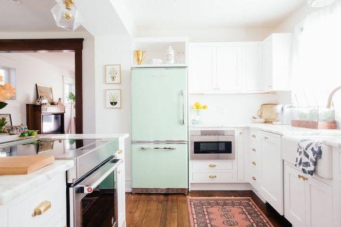 Id e relooking cuisine exemple de design cuisine campagnarde avec mobilier cuisine blanc for Mobilier cuisine design