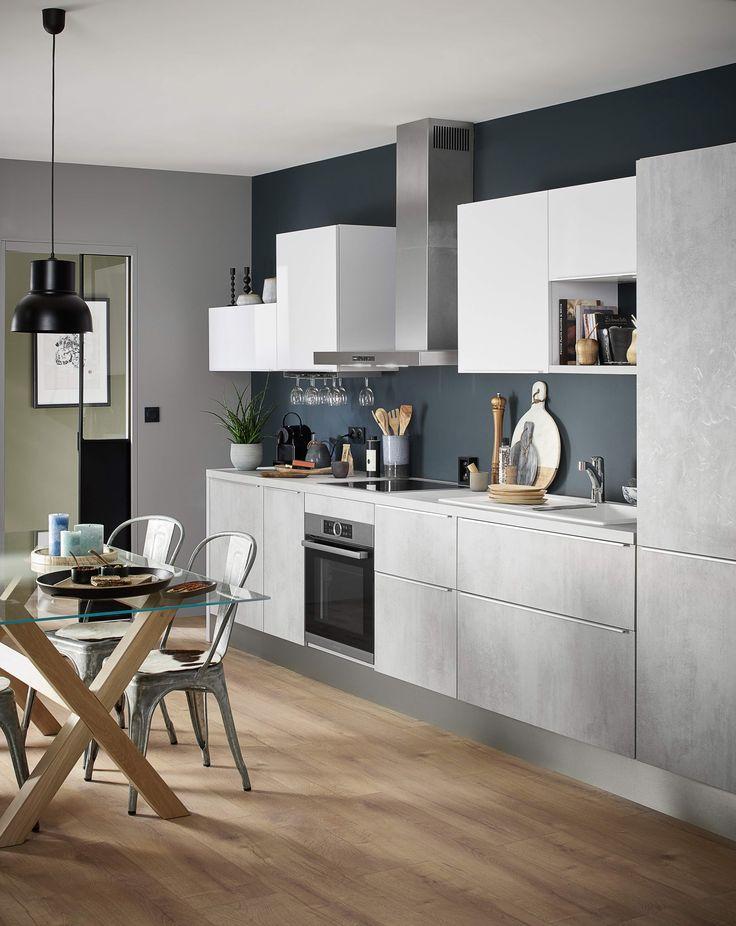 Id e relooking cuisine inspiration loft minimaliste pour for Cuisine minimaliste