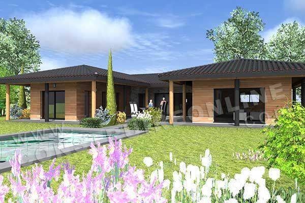 id e relooking cuisine maison moderne de plain pied de type 42 chambres une suite. Black Bedroom Furniture Sets. Home Design Ideas
