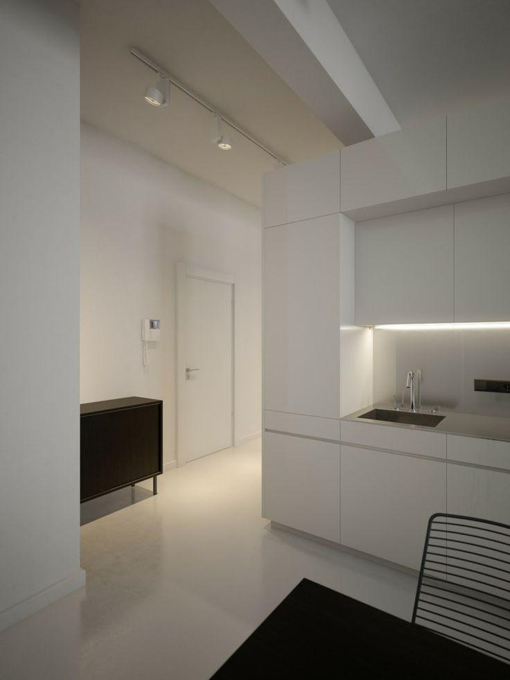 Mod le cuisine blanche en 50 id es inspirantes vous faire d couvrir leading - Modele cuisine blanche ...