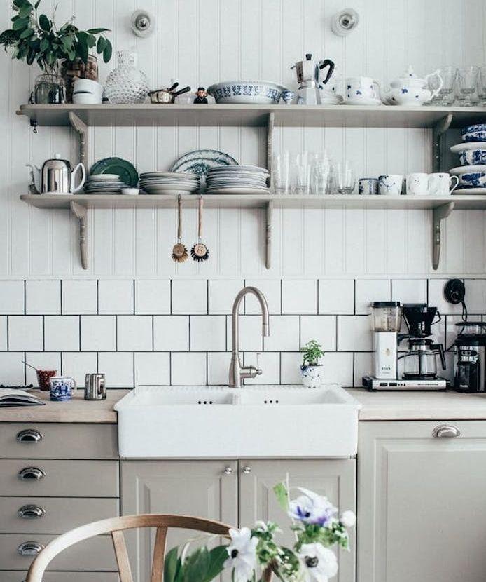 Id e relooking cuisine modele de cuisine campagnarde for Photo de cuisine campagnarde