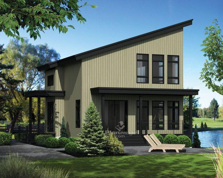 id e relooking cuisine synonyme de d tente et de confort ce chalet moderne au toit pentu et. Black Bedroom Furniture Sets. Home Design Ideas