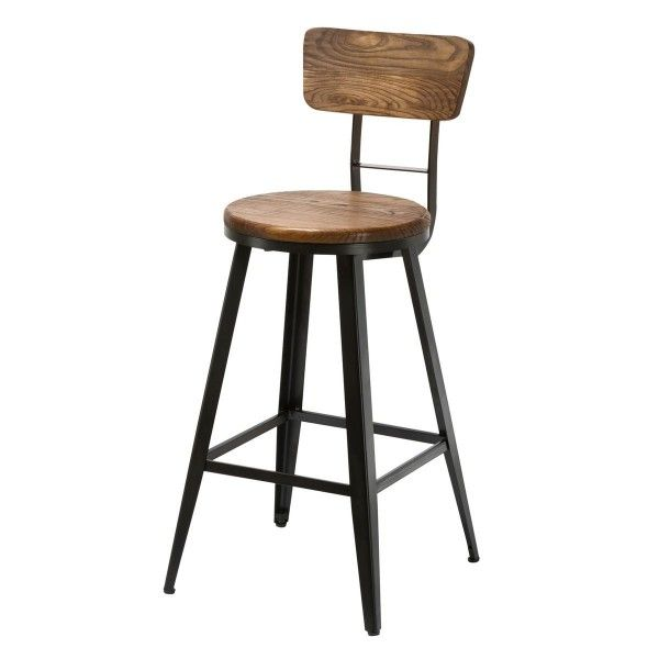 id e relooking cuisine tabouret de bar industriel pas cher mod le midland rendez vous d co. Black Bedroom Furniture Sets. Home Design Ideas