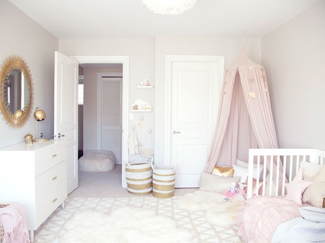 Relooking et décoration 2017 / 2018 - chambre bebe décoratin pastel ...