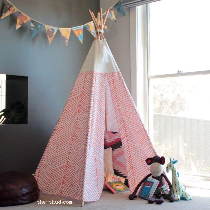 relooking et d coration 2017 2018 instructions de tipi d 39 enfants de bricolage coudre et ne. Black Bedroom Furniture Sets. Home Design Ideas