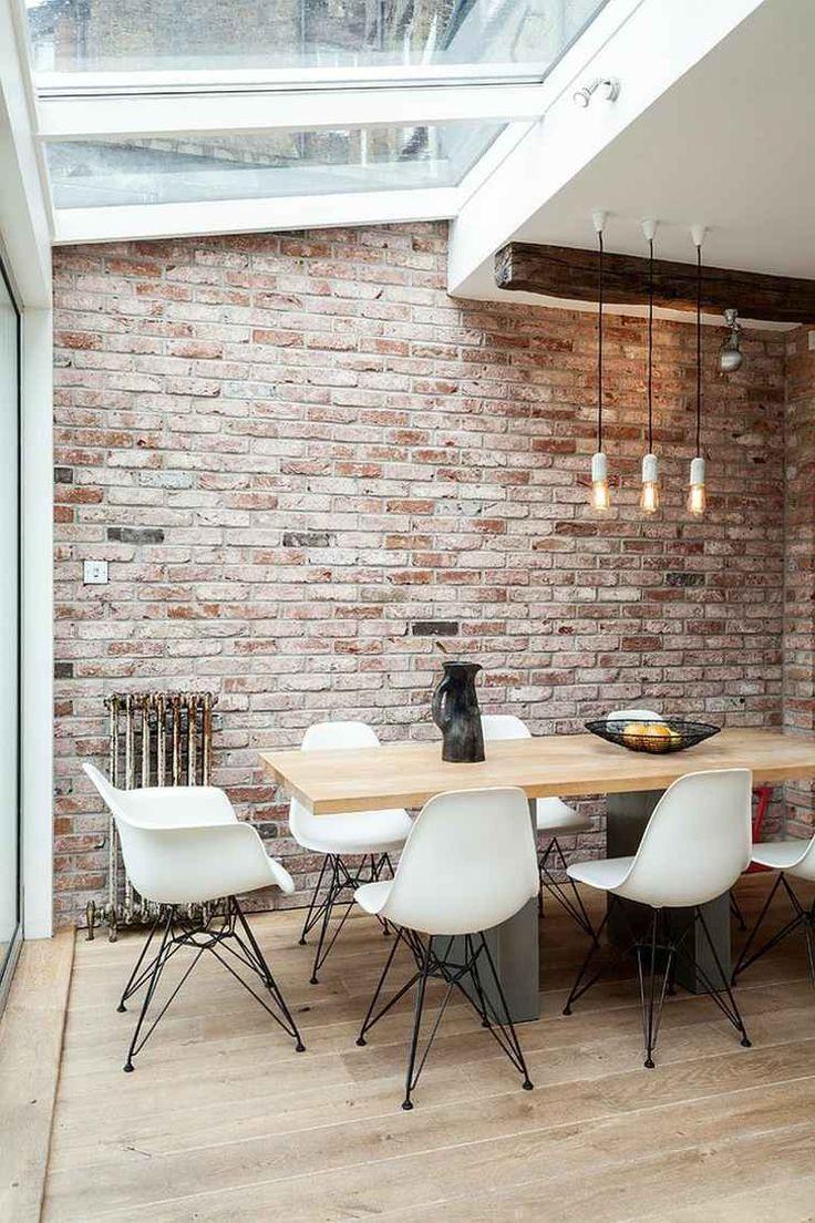 Salle manger d coration de style industriel de salle manger avec suspension - Deco salle a manger industrielle ...