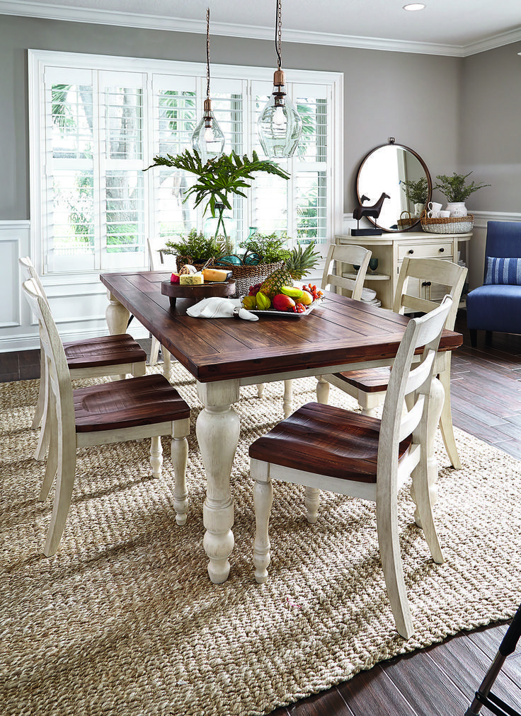 Old Fashioned Breakfast Bench Tables