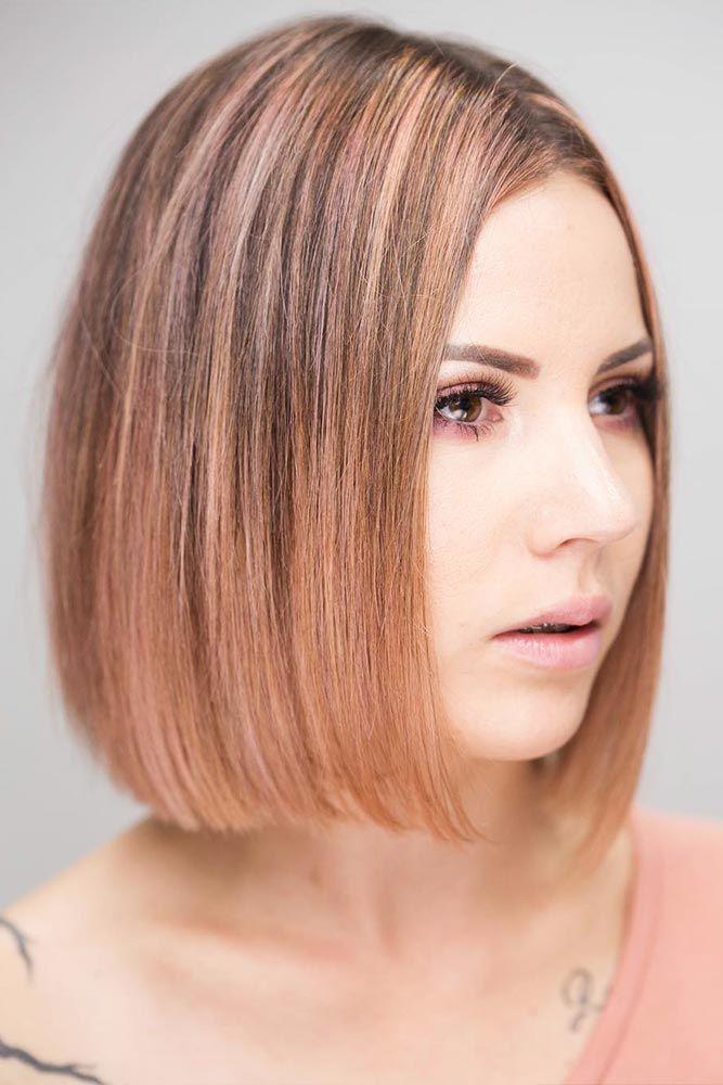 Nouvelle Tendance Coiffures Pour Femme 2017 / 2018 - 18 élégantes coupes de cheveux Bob moyen ...