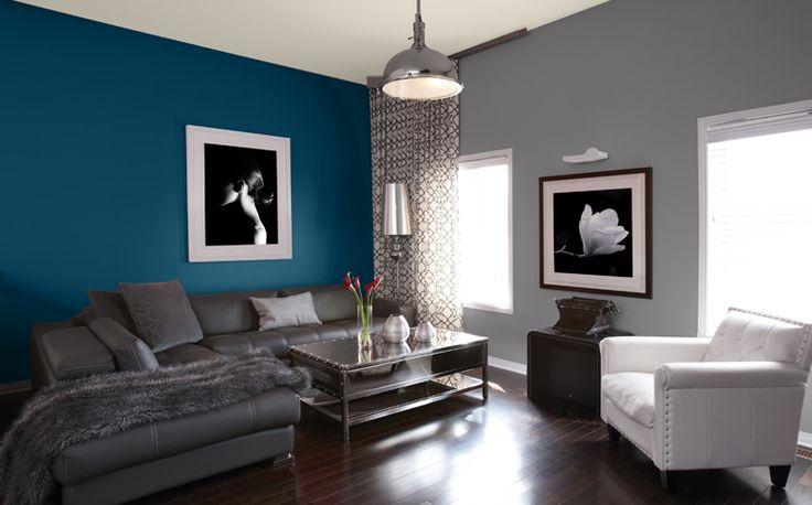 D co salon salon id es peinture couleurs sico leading inspiration - Idee couleur pour salon ...