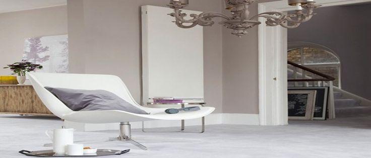 Déco Salon - couleur taupe pour la decoration du salon. couleur peinture taupe, canapé, cous ...