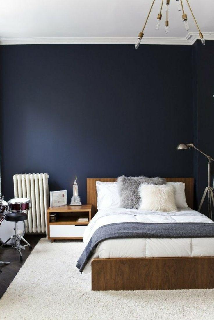 Déco Salon - déco-chambre-bleu-contemporaine - ListSpirit.com ...