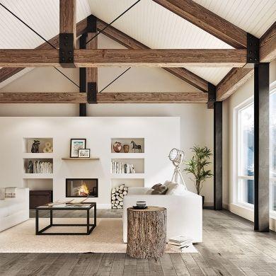 Deco salon scandinave bois - Eliminer les mouches dans la maison ...
