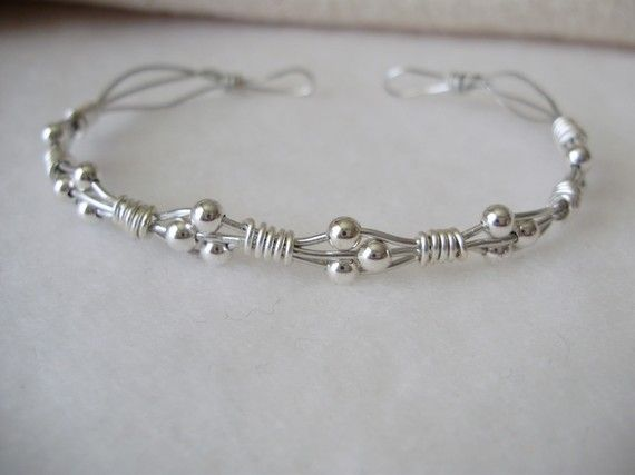 Diy Bijoux Wire Wrapped Bracelet Super Easy Wire