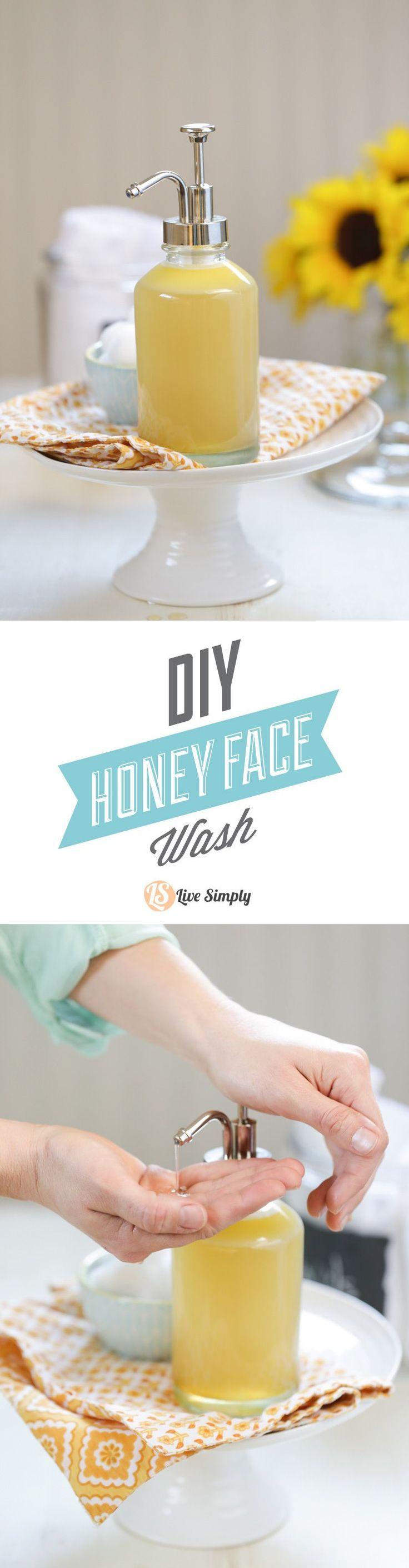 id e de soin du peau 2017 2018 un nettoyant pour le visage au miel fait maison naturel et e. Black Bedroom Furniture Sets. Home Design Ideas