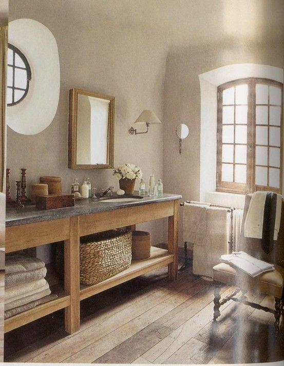 Idée décoration Salle de bain - déco salle de bain campagne ource de la photo : www.maison ...