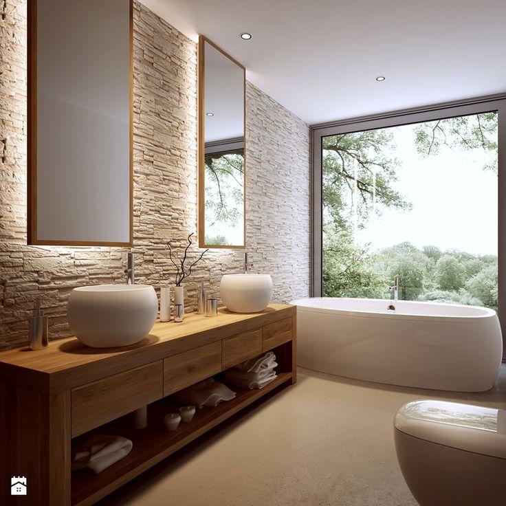 Id e d coration salle de bain d coration salle de bain for Deco salle de bain pierre