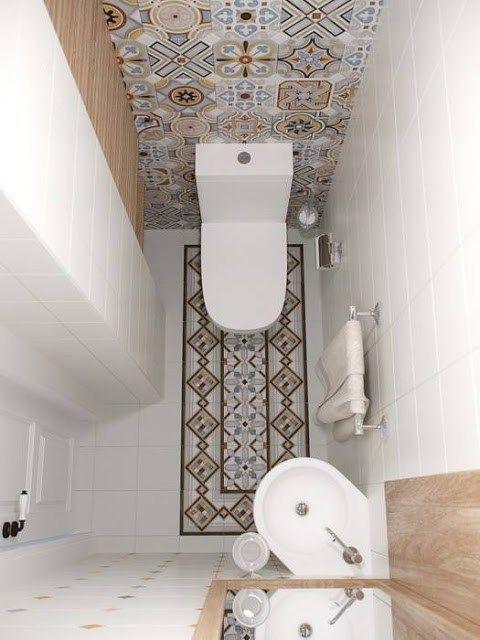 id e d coration salle de bain id e de l 39 vier en coin int ressante pour la petite salle d 39 eau. Black Bedroom Furniture Sets. Home Design Ideas