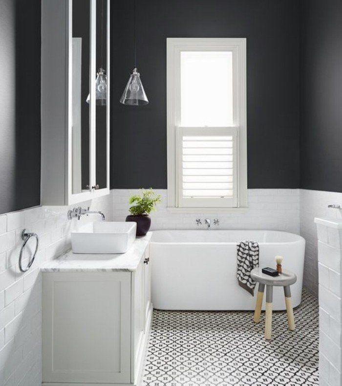 Idée décoration Salle de bain - idée géniale salle de bain taupe ...