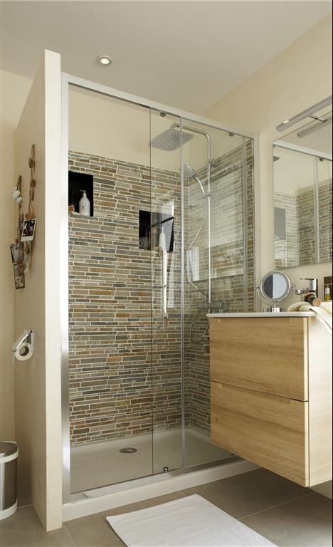 Ide Salle De Bain Douche Italienne. Gallery Of Excellent Carrelage ...