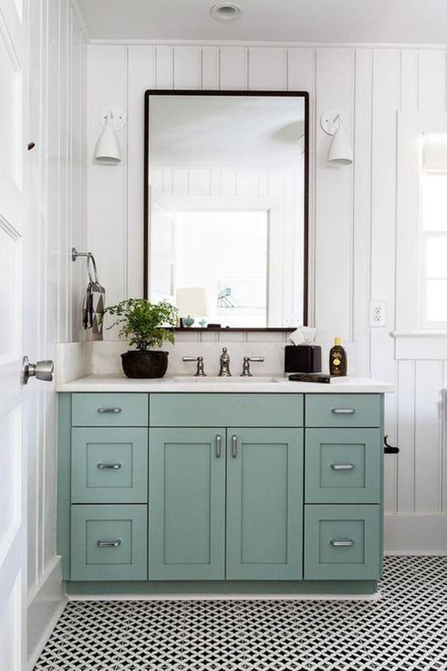 Id e d coration salle de bain salle de bain vanit r novation salle de bain - Idee renovation salle de bain ...