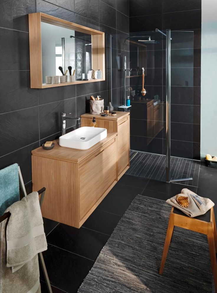id e d coration salle de bain vous aimez le c t naturel. Black Bedroom Furniture Sets. Home Design Ideas