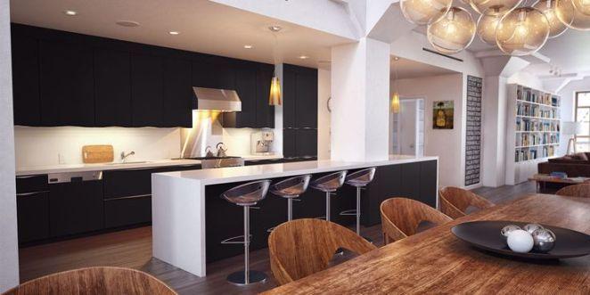 id e relooking cuisine id e relooking cuisine cuisine moderne avec une jolie fa ade mat. Black Bedroom Furniture Sets. Home Design Ideas