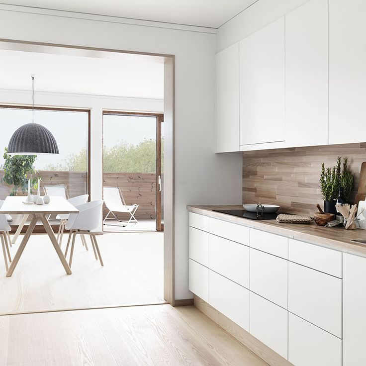 Idée relooking cuisine - Plan de travail en bois cuisine ...