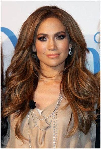 Idees Coiffures Pour Femme 2017 2018 Jennifer Lopez Long