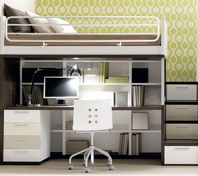 relooking et d coration 2017 2018 lit mezzanine et bureau avec escalier tiroirs pour. Black Bedroom Furniture Sets. Home Design Ideas