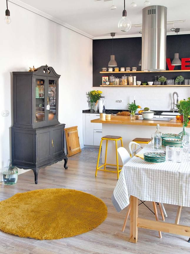 cuisine esprit scandinave gallery of console fabrik with cuisine esprit scandinave finest. Black Bedroom Furniture Sets. Home Design Ideas